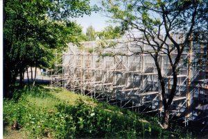 Spezielle Asbest-Einrüstung bei der Sanierung