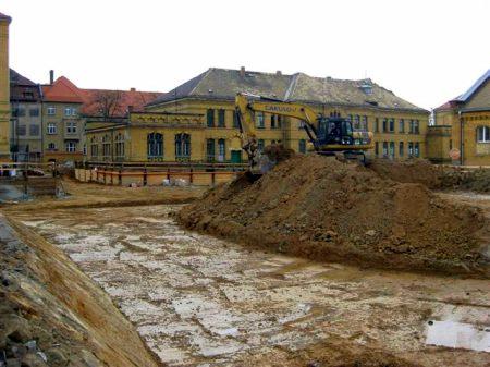 Abriss Körnerkaserne 2011