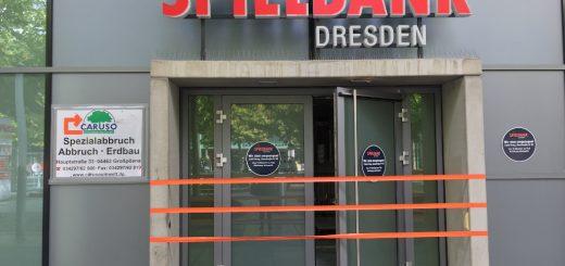 Entkernung und Rückbau der Spielbank Dresden