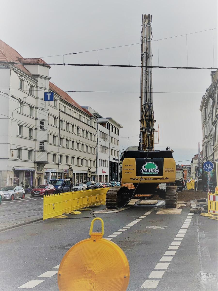 Abbruch Brandruine Georg-Schumann-Straße 53