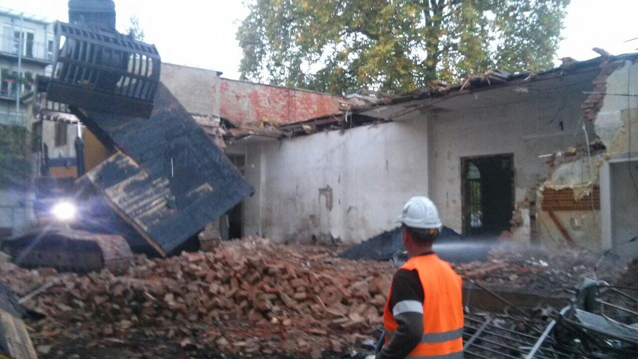 Abriss Villa in Gera 2017