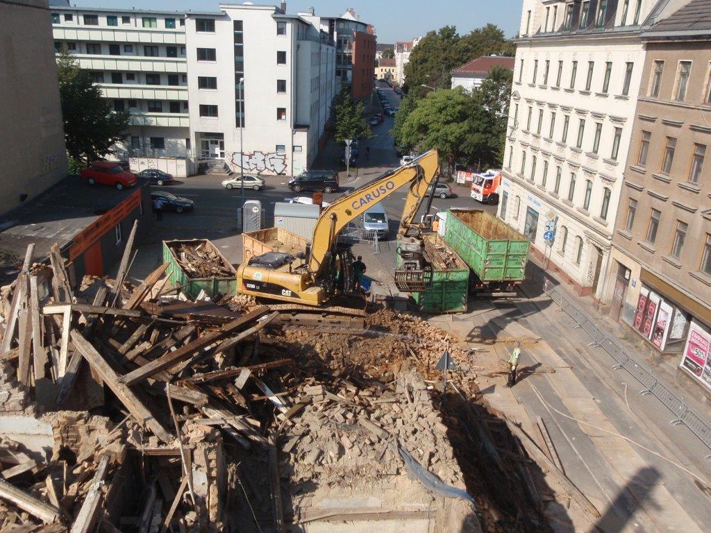 Leerstehender 4-Geschosser in Sommerfelder Straße 32 hatte massive Schäden