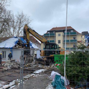 Abriss in Eilenburg: mehr Stellplätze