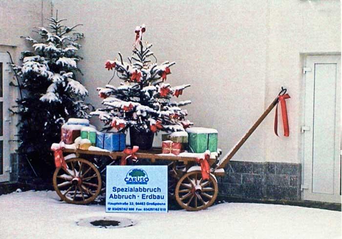 Weihnachtskarte 2002