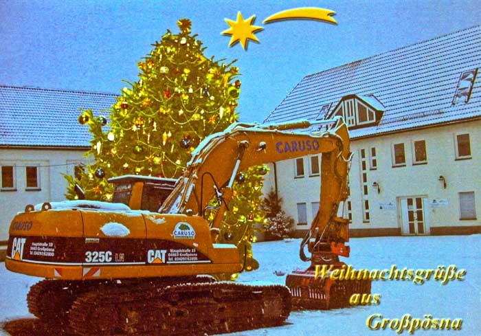 Weihnachtskarte 2003