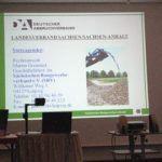 Präsentation während der Sitzung