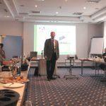 Bild von der Sitzung