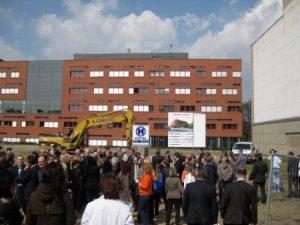 Feierlicher Baubeginn mit Caruso Umweltservice in Leipzig