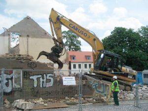 Abbruch Rittergut Großpösna
