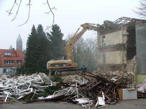 Baustelle Bad Homburg