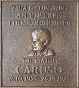 Gedenktafel für Dr. Mario Caruso
