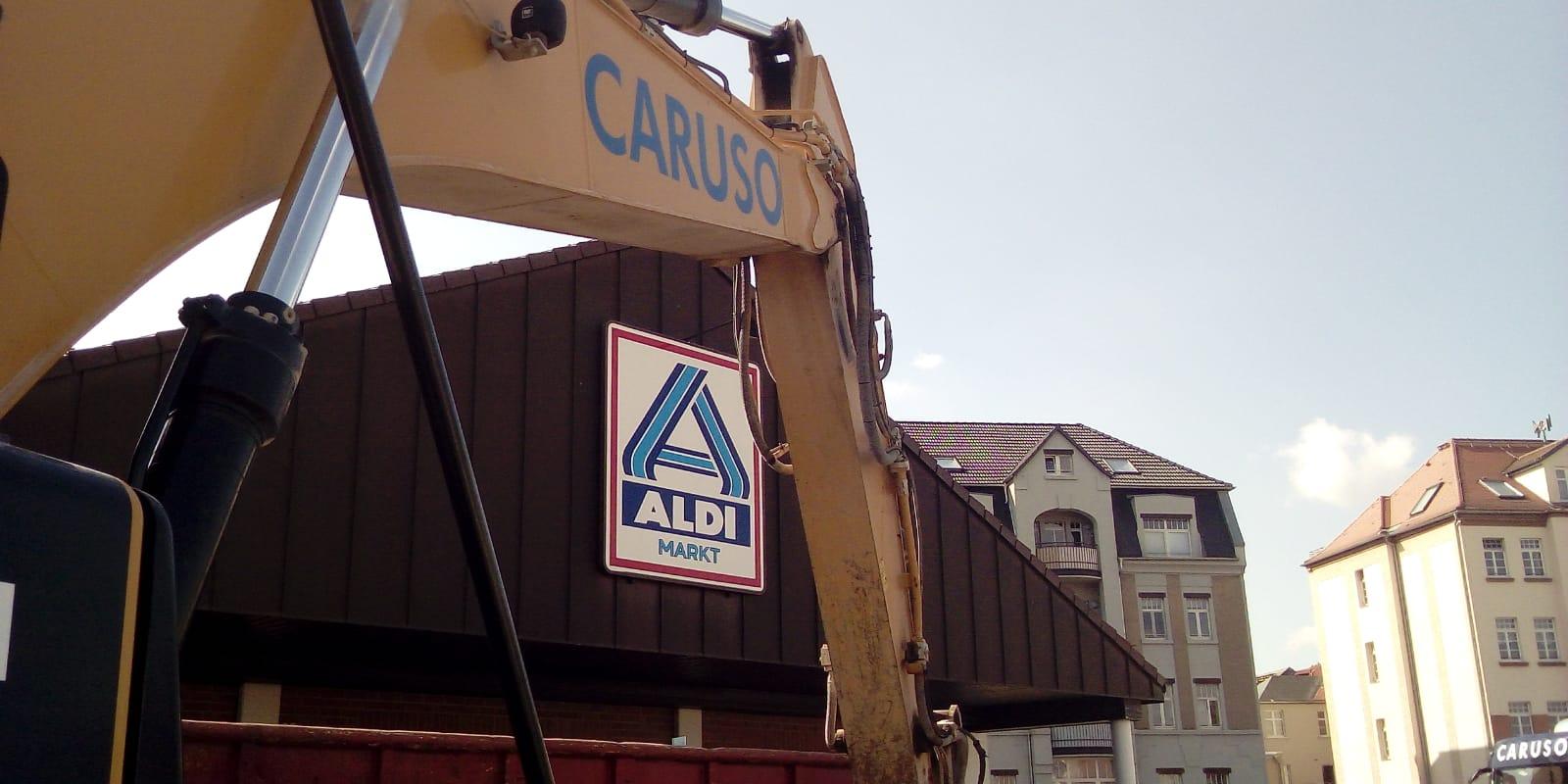 Aldi-Neubau in Markranstädt