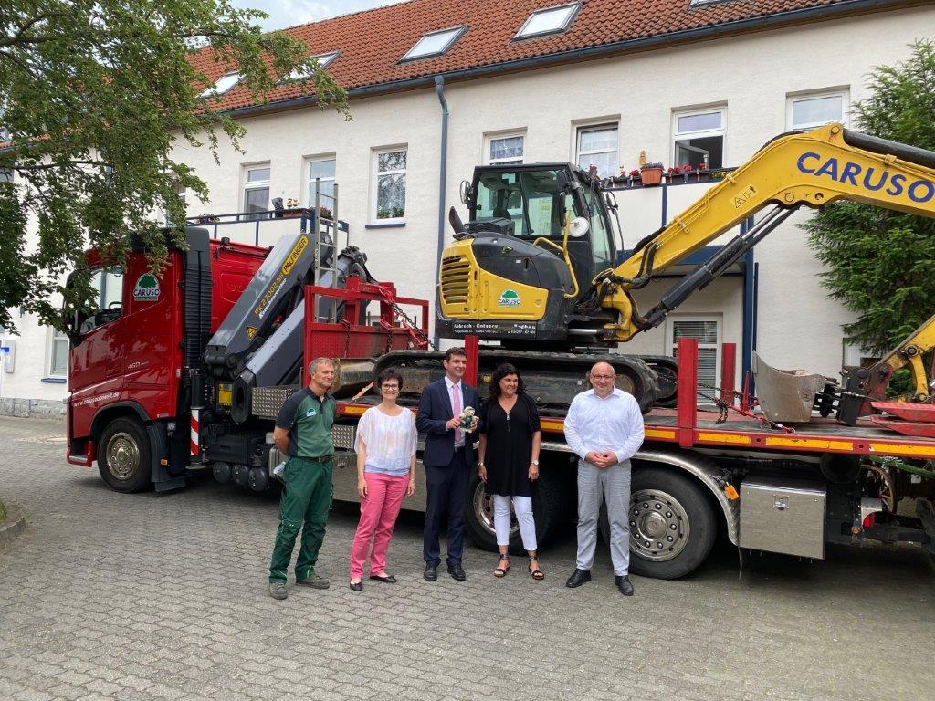 Gruppenbild zu 30 Jahre Caruso Umwelt GmbH