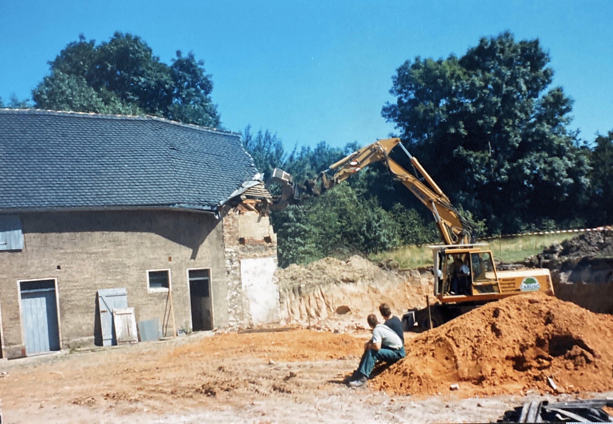Abbruch 1991